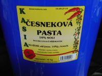 Česneková pasta 70% 10 kg