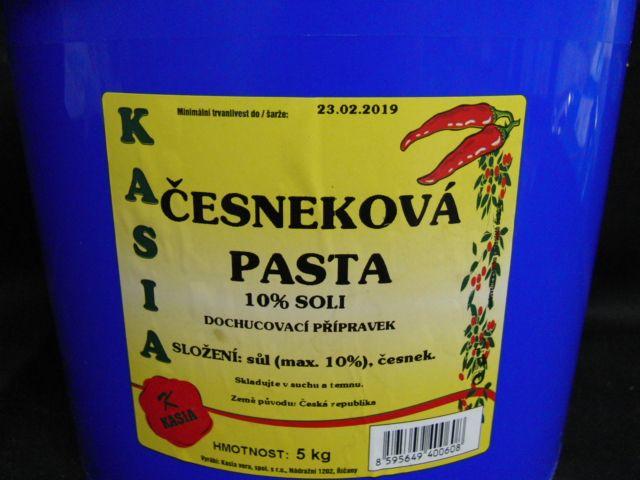 Česneková pasta 70% 5 kg