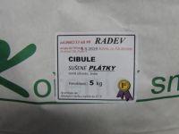 Cibule sušená plátky 5kg
