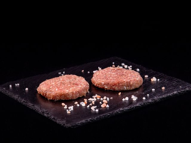 Mleté krůtí maso na burger
