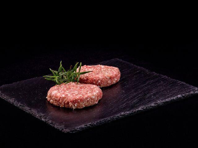 Mleté vepřové maso na burger