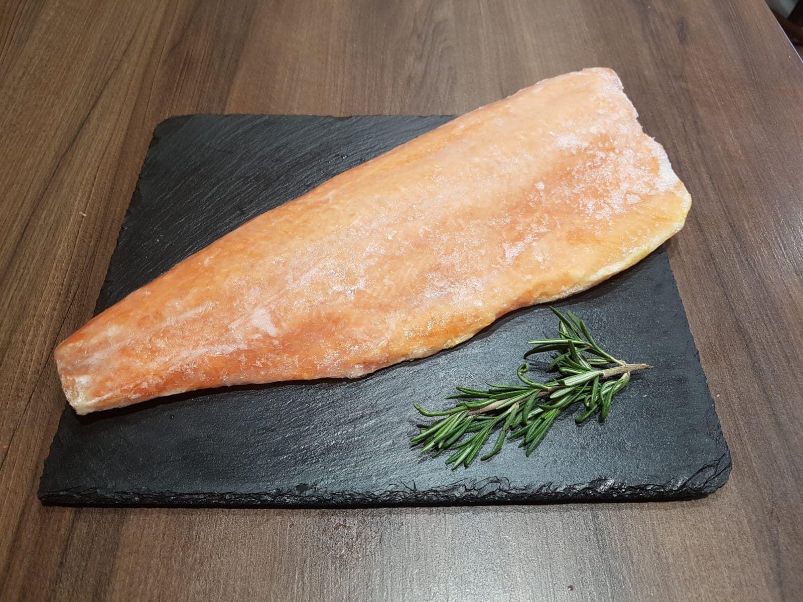 Losos filet s kůží